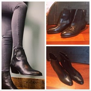 Worn Once High Quality Black Chelsea Boot